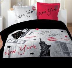 Linge de lit housse de couette 2 personnes blog de for Housse de couette new york 2 personnes pas cher
