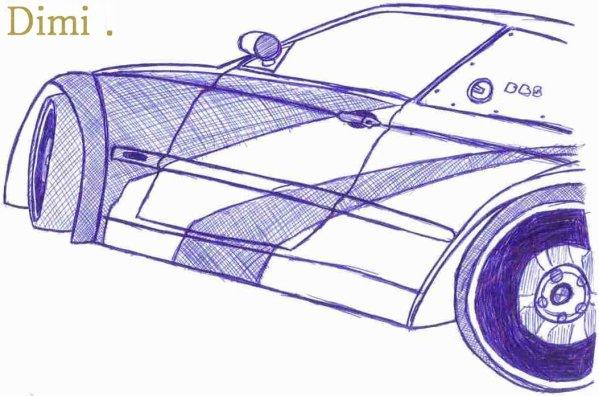 voiture need for speed au stylo n 1 les dessins de dimi. Black Bedroom Furniture Sets. Home Design Ideas