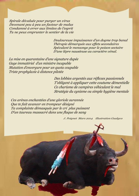"""Poème (anti corrida)  """"L'Offertoire des lépreux """" de jean Poignet 3210763267_1_4_3vogC1B1"""