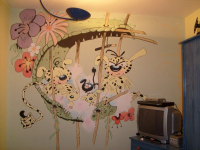 Blog de les dessins de jp mes dessins - Dessin muurschildering chambre fille ...