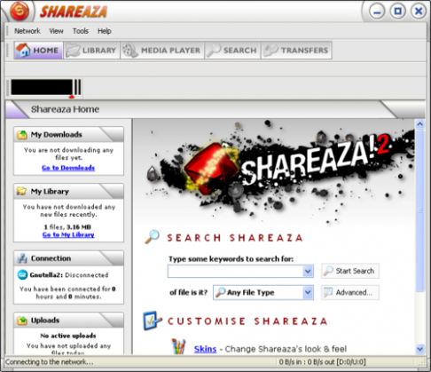 l► T�l�charger Shareaza Version 2.5.3.0( gratuit )