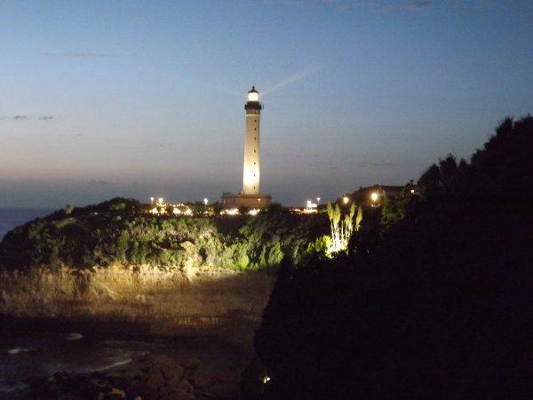 Le phare de biarritz prend de la couleur blog de my blog - Phare de biarritz ...