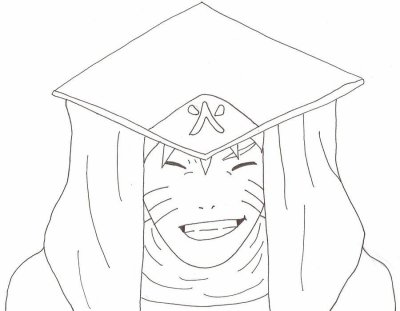Comment dessiner le 4 hokage - Naruto facile a dessiner ...