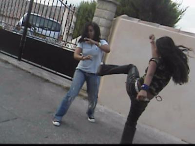 Combattant de rue 4 hentai