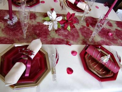 DECORATION DE TABLE - IDEE DECO POUR VOS FETES