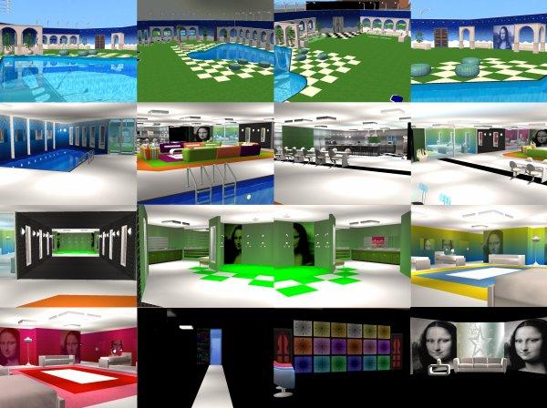 12 la maison des secrets blog de secretstory sims1 for Adresse maison secret story