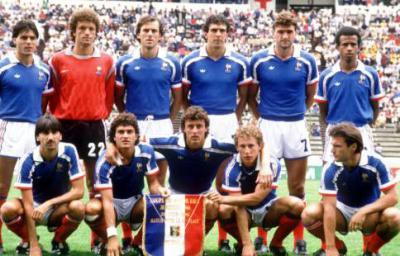 Equipe de france fan de foot - Coupe du monde mexique 1986 ...