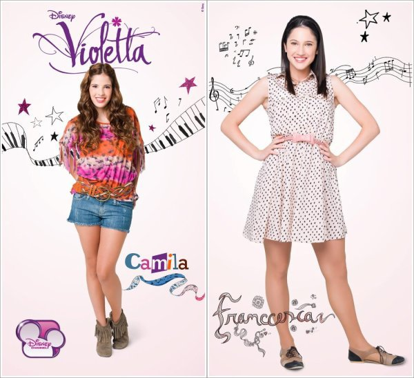 Violetta les personnages martina stoessel source - Personnage violetta ...