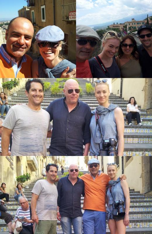Le 23 juin 2014, Yvonne et Albert sont toujours à l'île Sicile avec