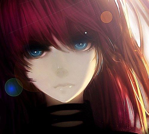Articles de kida kun tagg s fille au cheveux rouge qui les yeux bleu kida kun - Fille yeux bleu ...