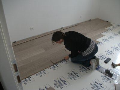 parquet de notre chambre blog de notre maison 21. Black Bedroom Furniture Sets. Home Design Ideas