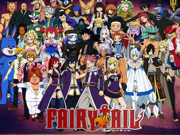 fairy tail liste episode