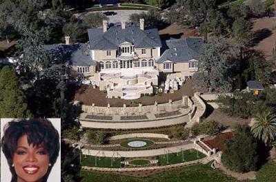 Oprah winfrey les maisons des stars americaines - Les maisons des stars ...