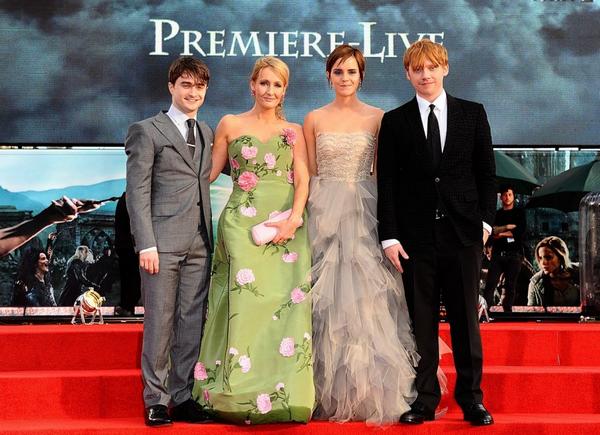 Petit retour en arri�re le 7 juillet 2011 : avant premi�re mondiale Londonienne d'Harry Potter et les Reliques de la Mort partie 2
