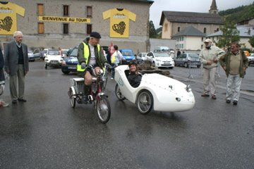 Travers�e des Alpes en v�hicule �lectrique 2010