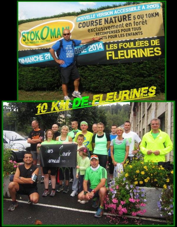 10 Km de Fleurines 2014 ...�pisode 1