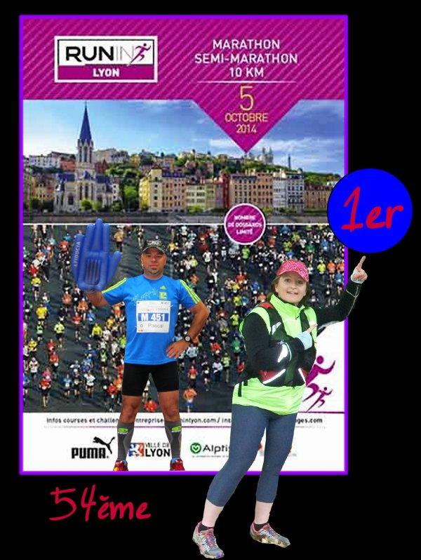 Marathon de Lyon ce week-end !!!!