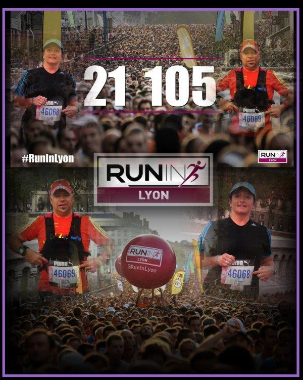 Marathon : Run in Lyon 2014 : la course 1