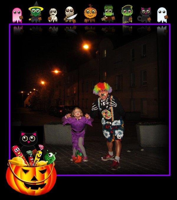 Halloween, on a ramass� des bonbons,