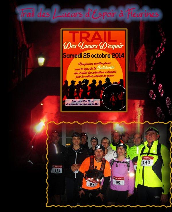 Trail Nocturne de Fleurines 2014 ==) TRAIL 10 km  (D+ 315m)