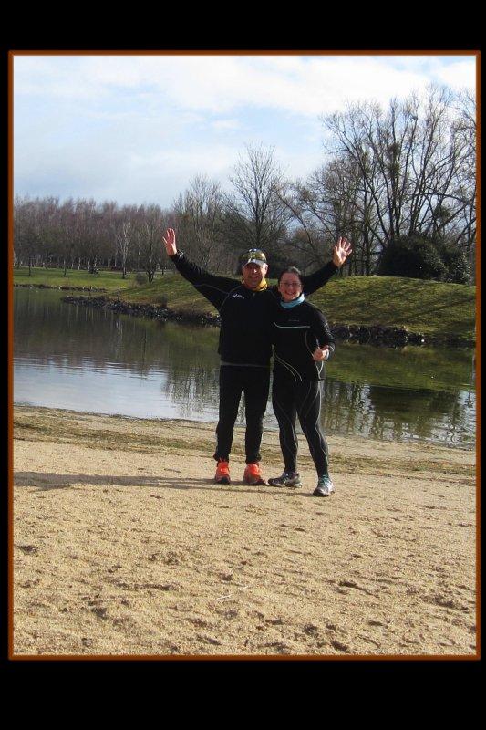 Week-end Normand f�vrier 2015… …version Run
