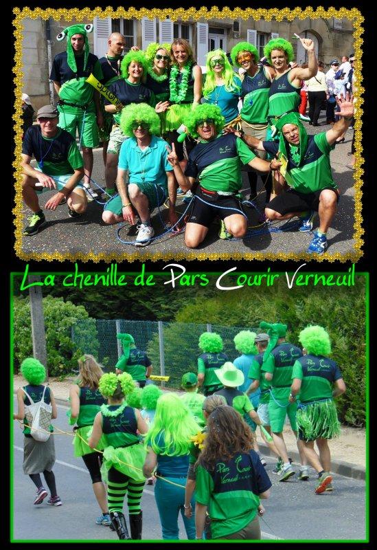 La chenille de Pars Courir Verneuil ...