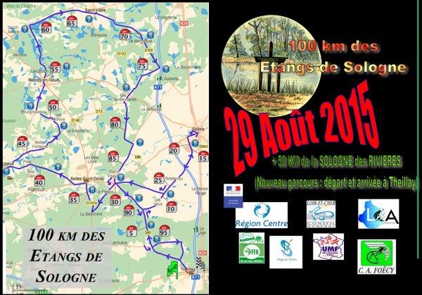 bient�t de retour... ce soir nous partons en Sologne pour les 100 km des �tangs de Sologne.