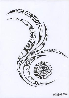 motif tatouages maori. Black Bedroom Furniture Sets. Home Design Ideas