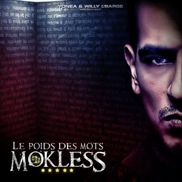 """L'ALBUM DE MOKLESS """"LE POIDS DES MOTS"""" TOUJOURS DISPONIBLE!!"""