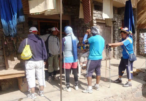 """ASCM,cyclotourisme n�1au Maroc.la sortie : l'ascension vers le sommet du Jebel Toubkal,Alt4167m """"Haut-Atlas Maroc"""".+ les cascades OUZOUD + Barrage Bin el-ouidane.du 16 au 19 Mai 2014."""
