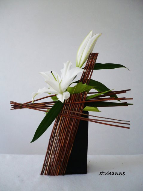 moderne art floral bouquets et compositions florales de. Black Bedroom Furniture Sets. Home Design Ideas