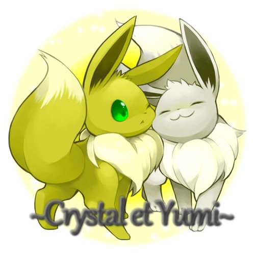 Crystal & Yumi n'amouretteuh ♥♥♥ version Pok�mon