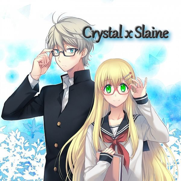 Crystal x Slaine  [Aldnoah Zero]