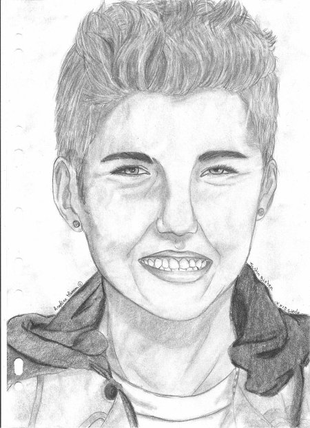 Justin bieber dessiner pour vivre - Dessin justin bieber ...