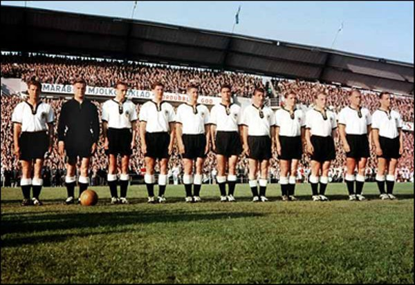 Suede 1958 Groupe 1 Les Noyaux Fifa Worldcup History