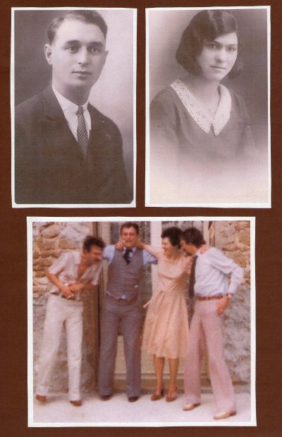 -Mes parents Jean-Baptiste et Maria.ci dessous dans les annees 1980--1985.
