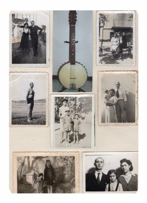 quelques photos des ann�es ou mes parents etaient fianc�s et ann�es de guerre 39/45