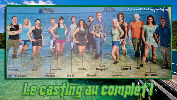 SCOOP - Koh-Lanta All Star 2014: Le casting au complet !