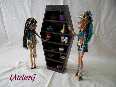 les meubles pour monster high je suis une maman. Black Bedroom Furniture Sets. Home Design Ideas