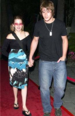 Majandra Delfino couple