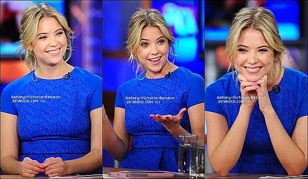""". Le 23 janvier 2012, Ash Benson et son sourire �taient les invit�s de l'�mission TV : """"  Good Day LA """"  ! Wow. �a pourra en choquer certains, mais cette tenue est dans mes  grands coups de  c�urs  de  2012.  Un magnifique TOP, vraiment ! ."""