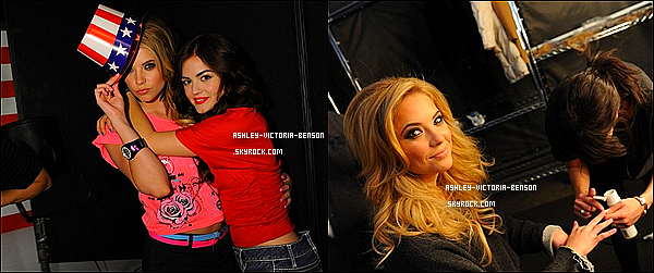 . D�couvrez un photoshoot de Ash' et Lucy Hale pour la marque de v�tements�Bongo ! .