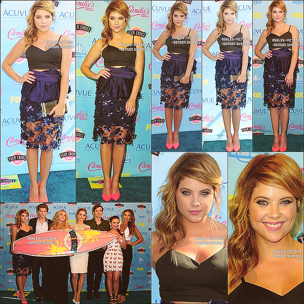 TEEN CHOICE AWARDS 2013 - 11 AO�T 2013  PLL a re�u l'award de la meilleure s�rie Drama.
