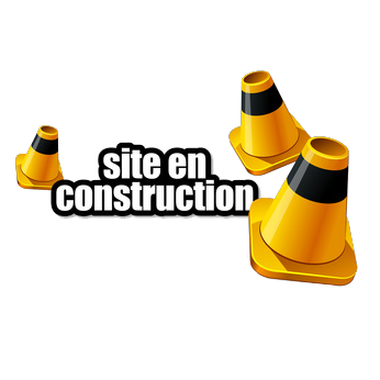 site en construction ( Site under construction )