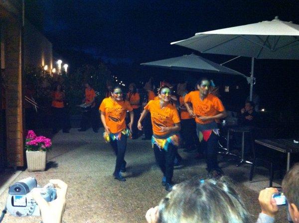 Soir�e Samba aux Cottages du Puy d' Agnoux  ( Juillet 2012 )