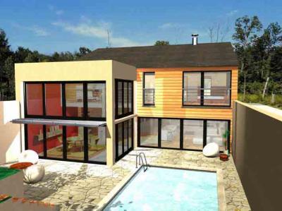 Maison moderne mon petit unnivers 100 deco for La maison contemporaine herblay