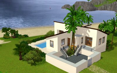 Chambre moderne sims 3 design de maison for Sims 3 salon moderne