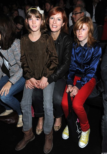 Karin viard et ses filles blog de momeschoufrenchie62 - Charlotte de turckheim et ses filles ...