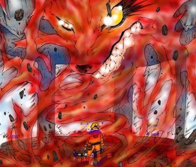 Kyuubi le d mon renard neuf queues blog de xx vive - Naruto renard ...