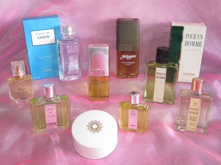 Caron - diverses fragrances